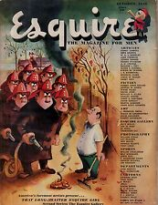 1946 Esquire October - Danny Chan at ruby Foo's; Tom Moore; Firemen cover;