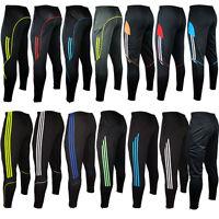 Men's Sportwear Soccer football Running Training Sweat Skinny Pants Trousers