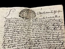 Old Document 1724