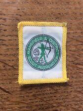 Vintage Cloth Patch Scout Badge Scouting Memorabila Mansfield Nottinghamshire