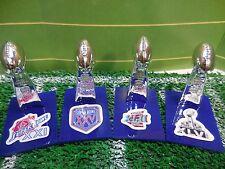 NY Giants Mini Lombardi Trophy Set Mcfarlane/Pocket Pro