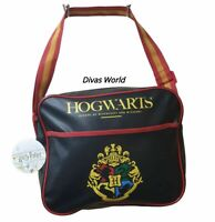 Harry Potter Messenger Bag Black Crest Shoulder Bags School Hogwarts