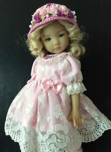 """Outfits & shoes for Dianna Effner doll Little Darling 13"""" 4pc."""