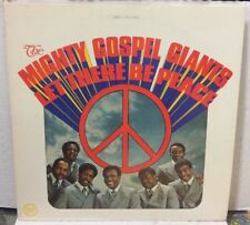 The Mighty Gospel Giants Let There Be Peace Record LPGS24025