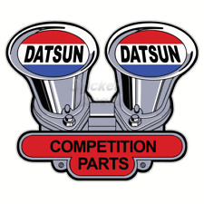 Datsun 1200 Twin Webbers Vinyl Car Sticker