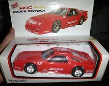 1/24 Vérité Veleur Iroc Dodge Daytona #12 Red PLASTIQUE Voiture