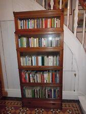 Bücherschrank Vitrine Orig. GLOBE WERNICKE London England ca. 1920 Eiche massiv