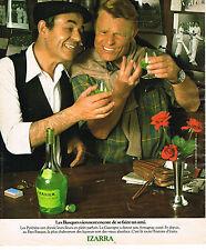 PUBLICITE ADVERTISING 124  1977  IZARRA  liqueur Basque 2