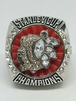 2013 CHICAGO BLACKHAWKS NHL STANLEY CUP CHAMPIONS JONATHAN TOEWS RING SIZE 11