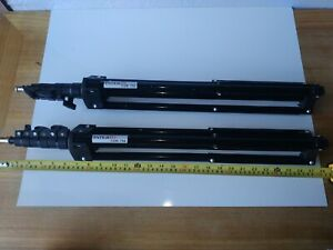 Two Interfit COR 750 photographic stands well used