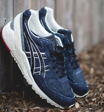 DS MENS ASICS GEL-SIGHT NAVY BLACK H6L1N-5090 RUNNING SHOES  SZ 6 AUTHENTIC