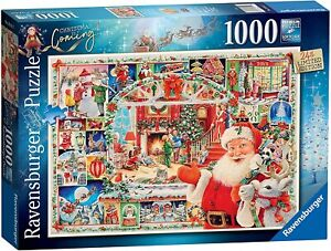 Jigsaw Puzzle - CHRISTMAS IS COMING - 24th Limited Edition (2020) - 1000 Pieces