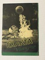 Werbe Prospekt für Kamera EXAKTA VAREX IHAGEE Kamerawerk Dresden 1956