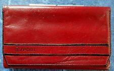 9e45386ffe0e5 Goldpfeil Sport  Vintage Geldbörse   Bordeaux