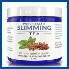Pure Health SLIMMING TEA Peppermint + Anise Caffeine Free My Diet Chef 5oz