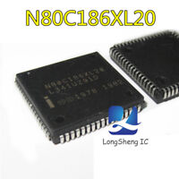 1PCS INTEL N80C186XL20 PLCC-68 16-BIT HIGH-INTEGRATION EMBEDDED IC NEW