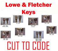 Replacement Lowe & Fletcher Keys Cut to Code - Professional Locksmiths -FREE P&P