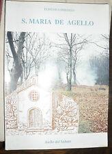 S. Maria De Agello di Domenico Imbimbo ed. 1993 storia locale chiesa avellinese