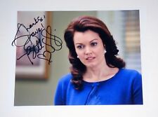 Actress Bellamy Young of Scandal Signed 8.5X11 In Charactor Photo COA PROOF