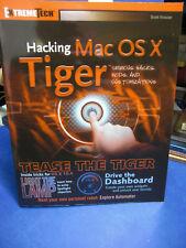Hacking, MAC OS X Tiger, englisch, (F/38/15)