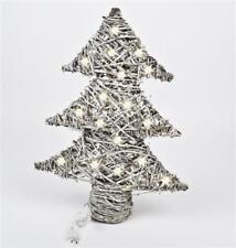 Alberi di Natale bianca Natale decorate