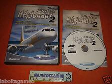 PILOTES REGIONAL 2 ADD - ONE MICROSOFT FLIGHT SIMULATOR 2004 PC CD-ROM PAL