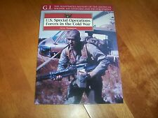 U.S. SPECIAL OPERATIONS FORCES COLD WAR GI Series Uniforms Equipment Book NEW