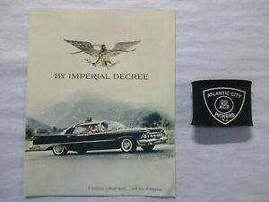 1959 CHRYSLER IMPERIAL DECREE FOLD-OUT SALES BROCHURE