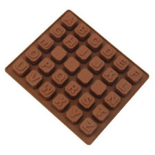 Alphabet 30 Cavity Silicone Mold for Fondant, Gum Paste, Chocolate, Crafts NEW