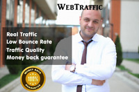 30 Days UNLlMITED Web Traffic Website