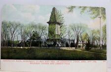 Massachusetts MA Lexington Buckman Tavern Liberty Pole Postcard Old Vintage Card