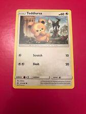 171/236 Teddiursa / Pokemon Card Game / TCG / SM-12 / Cosmic Eclipse