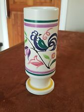 More details for rare shaped poole pottery blue bird le pattern vase free uk p&p