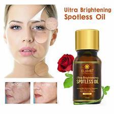 Natural Ultra Brightening Spotless Oil Rose Essential Skin Whitening Serum