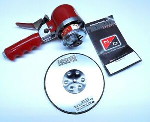 "New National Detroit Industrial Quality  6"" Pneumatic Dual Action Sander DAQ"