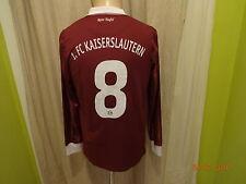 1.FC Kaiserslautern Original Langarm Junior Matchworn Trikot 2010/11 + Nr.8 Gr.S