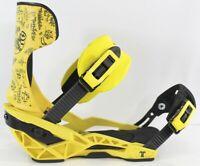 Technine Pro Slugger 2.0 Snowboard Bindings Mens Large (US 8-12),Yellow New 2021
