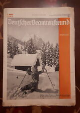 Deutscher Beamtenfreund Heft 1 1941 40er Jahre alte Zeitungen Zeitschriften