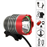 5000Lm XML LED Bike Head Front Light Cycling Bicycle Headlamp   Rechargeable