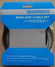 Shimano Schaltzug Set Rennrad / Race OT-SP41 Edelstahl, schwarz, NEU