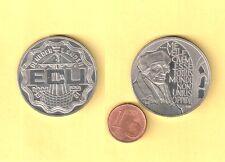 Die Niederlande. Das Schiff.  Die Münze 2 1/2 ECU. 1991. Der Durchmesser 33