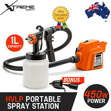HVLP Paint Sprayer Gun Consistent Power Output Included Blowing Connection