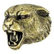 Panther Cougar Mascot Letterman Jacket Pin