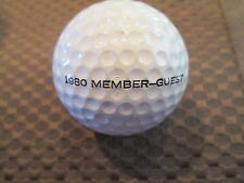 Logo Golf Ball-1980 Member-Guest At Sedgefield Country Club.Vintage