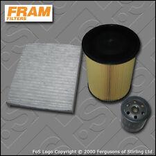 SERVICE KIT VOLVO S40 II 2.0 16V FRAM OIL AIR CABIN FILTERS (2007-2012)