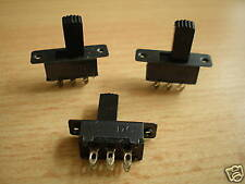 Panel mounted DPDT slide switches  pack of 2    Z948