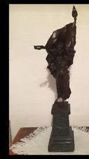 Antonio Pandiani(1838-1928) stupenda scultura in bronzo