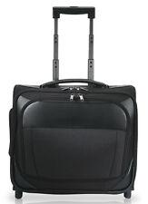 "GP Maestro 16"" Black Rolling Business Overnighter Laptop Computer Briefcase Bag"