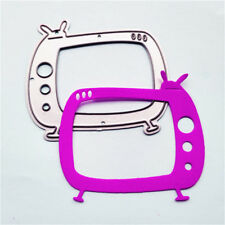 Delicate Television Framed Cutting Dies For Scrapbooking Card Craft DecorSP