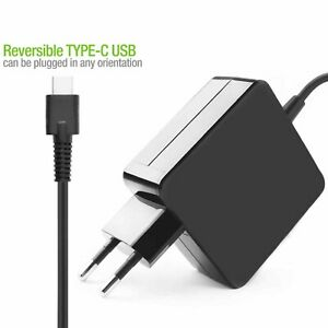 Ladegerät Netzteil 65W USB - C Art Für Laptop PC Dell XPS12 9250 XPS13 9350